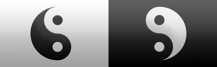 Separated Yin Yang